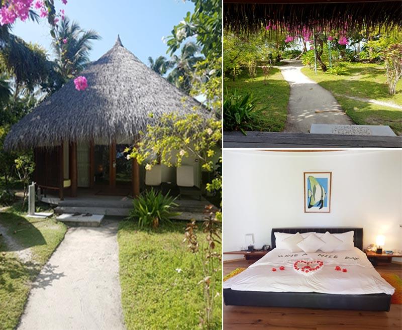 Susan And Lee's Fabulous Thailand And Maldives Honeymoon Kuramathi Island Room1