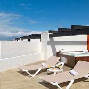 Mexico Honeymoon Packages Hard Rock Hotel Riviera Maya Deluxe Platinum Grand Sky Terrace ( 2 Bedroom) (Hacienda Adults & Kids)3