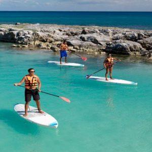 Mexico Honeymoon Packages Hard Rock Hotel Riviera Maya Paddle Boarding
