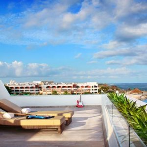 Mexico Honeymoon Packages Hard Rock Hotel Riviera Maya Rock Suite Platinum Rooftop Lounge (2 Bedroom) With Personal Assistant (Hacienda Adults & Kids) 3