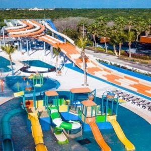 Mexico Honeymoon Packages Hard Rock Hotel Riviera Maya Rockaway Bay Waterpark Aerial View