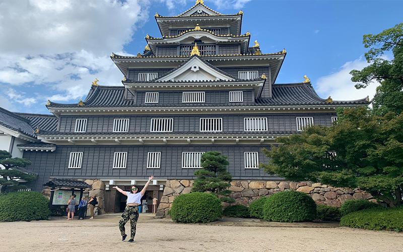 Abbies Japan Trip Day 1 Okayama Castle