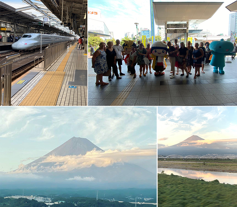 Abbies Japan Trip Day 3 Bullet Train And Mount Fuji