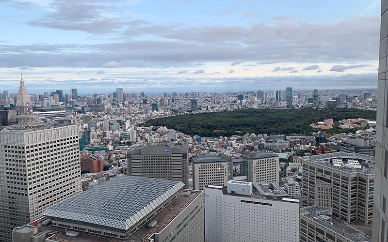 Abbies Japan Trip Day 4 Tokyo, Observation Deck