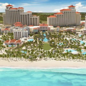 Bahamas Honeymoon Packages Grand Hyatt Baha Mar Aerial View