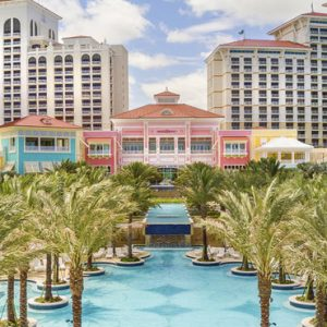 Bahamas Honeymoon Packages Grand Hyatt Baha Mar Hotel Exterior