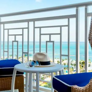 Bahamas Honeymoon Packages Grand Hyatt Baha Mar Ocean View Deluxe Balcony King Balcony View