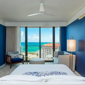 Bahamas Honeymoon Packages Grand Hyatt Baha Mar Ocean View Deluxe King Bedroom View