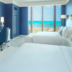 Bahamas Honeymoon Packages Grand Hyatt Baha Mar Ocean View Deluxe Queen Bedroom View 2