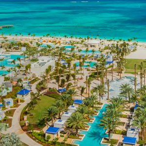 Bahamas Honeymoon Packages Grand Hyatt Baha Mar One Bedroom Ocean View Residence Deluxe With One King Bed (West Tower, Deluxe) View