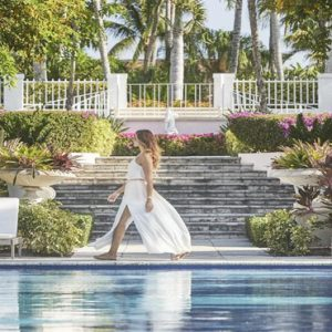 Bahamas Honeymoon Packages The Ocean Club, A Four Seasons Resort Women By Pool