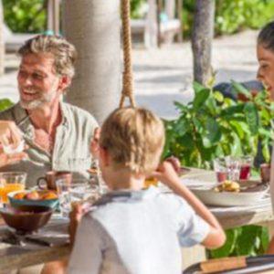 Maldives Honeymoon Package InterContinental Maldives Maamunagau Resort Cafe Umi