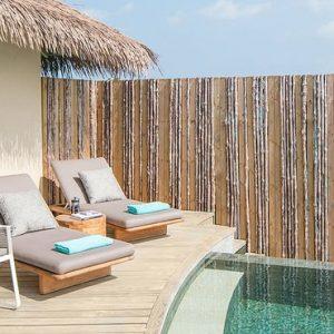 Maldives Honeymoon Package InterContinental Maldives Maamunagau Resort Sunrise Overwater Pool Villas