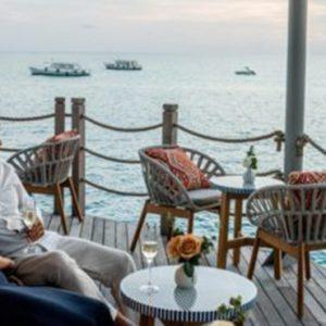Maldives Honeymoon Package InterContinental Maldives Maamunagau Resort Sunset Bar