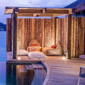 Maldives Honeymoon Package InterContinental Maldives Maamunagau Resort Sunset Overwater Pool Villas 2