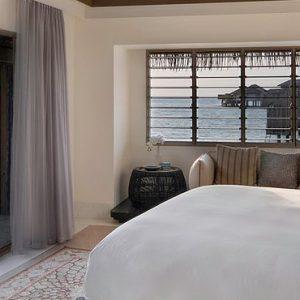 Maldives Honeymoon Package InterContinental Maldives Maamunagau Resort Sunset Overwater Pool Villas
