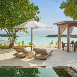 Maldives Honeymoon Packages Fairmont Maldives Sirru Fen Fushi Beach Sunrise Villa 2