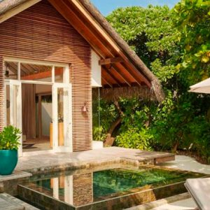 Maldives Honeymoon Packages Fairmont Maldives Sirru Fen Fushi Beach Sunset Villa 4