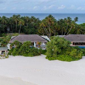 Maldives Honeymoon Packages Fairmont Maldives Sirru Fen Fushi Beach Villa Exterior