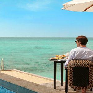 Maldives Honeymoon Packages Fairmont Maldives Sirru Fen Fushi Breakfast Dining