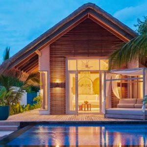Maldives Honeymoon Packages Fairmont Maldives Sirru Fen Fushi Deluxe Beach Sunset Villa 3