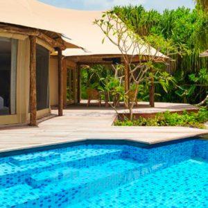 Maldives Honeymoon Packages Fairmont Maldives Sirru Fen Fushi Tented Jungle Villa 4