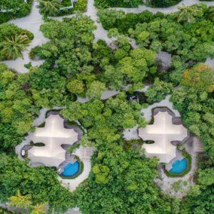 Maldives Honeymoon Packages Fairmont Maldives Sirru Fen Fushi Tented Jungle Villa 5