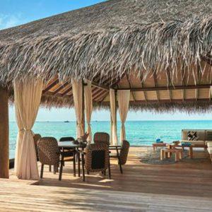 Maldives Honeymoon Packages Fairmont Maldives Sirru Fen Fushi Three Bedroom Water Sunset Villa5