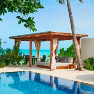 Maldives Honeymoon Packages Fairmont Maldives Sirru Fen Fushi Two Bedroom Beach Sunset Villa 3
