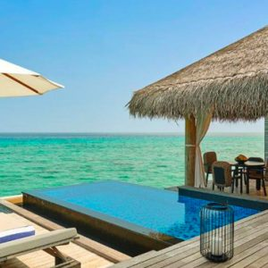 Maldives Honeymoon Packages Fairmont Maldives Sirru Fen Fushi Two Bedroom Water Sunrise Villa 2