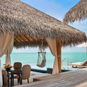 Maldives Honeymoon Packages Fairmont Maldives Sirru Fen Fushi Two Bedroom Water Sunset Villa 2
