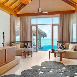 Maldives Honeymoon Packages Fairmont Maldives Sirru Fen Fushi Two Bedroom Water Sunset Villa 3