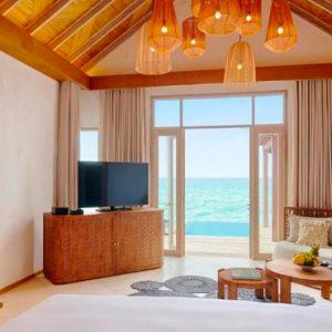 Maldives Honeymoon Packages Fairmont Maldives Sirru Fen Fushi Water Sunrise Villa 3