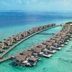 Maldives Honeymoon Packages Fairmont Maldives Sirru Fen Fushi Aerial View