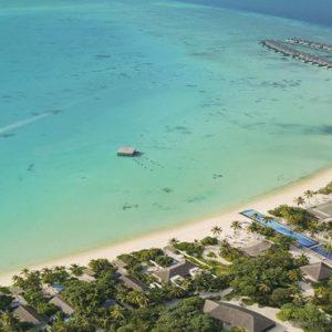 Maldives Honeymoon Packages Fairmont Maldives Sirru Fen Fushi Aerial View3