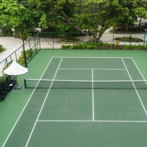Maldives Honeymoon Packages Fairmont Maldives Sirru Fen Fushi Tennis