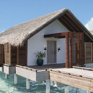 Maldives Honeymoon Packages Fairmont Maldives Sirru Fen Fushi Water Sunrise Villa Exterior