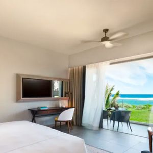 Mauritius Honeymoon Packages Anantara Iko Mauritius Resort & Villas Deluxe Ocean View Room Bedroom View