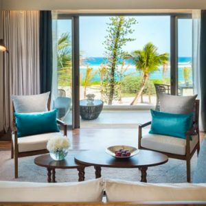 Mauritius Honeymoon Packages Anantara Iko Mauritius Resort & Villas Ocean View Suite Living Room View 2