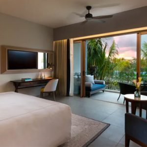Mauritius Honeymoon Packages Anantara Iko Mauritius Resort & Villas Premier Garden View Room Bedroom View
