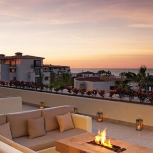 Mexico Honeymoon Packages Secrets Puerto Los Cabos Golf & Spa Resort Balcony Relaxing Area With View