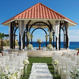 Mexico Honeymoon Packages Secrets Puerto Los Cabos Golf & Spa Resort Gazebo Wedding