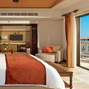 Mexico Honeymoon Packages Secrets Puerto Los Cabos Golf & Spa Resort Master Suite Ocean View Bedroom