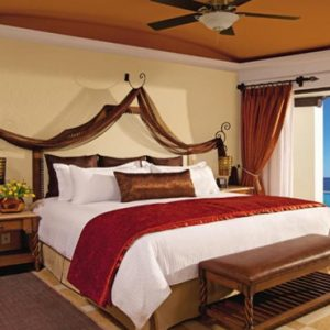 Mexico Honeymoon Packages Secrets Puerto Los Cabos Golf & Spa Resort Master Suite Swim Out Ocean View Bedroom