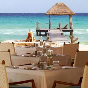 Mexico Honeymoon Packages Viceroy Riviera Maya Mexico Dining 3