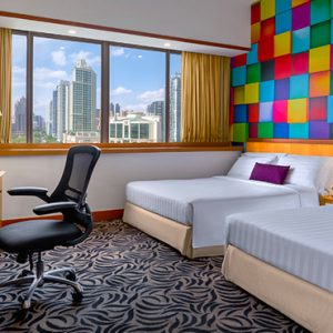 Singapore Honeymoon Packages Furama RiverFront Family Room
