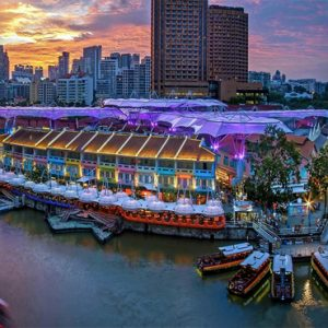 Singapore Honeymoon Packages Furama RiverFront Hotel Exterior