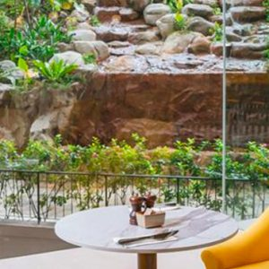 Singapore Honeymoon Packages Furama RiverFront Waterfall Lounge