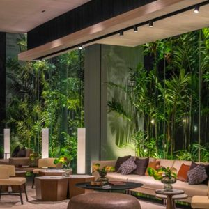 Thailand Honeymoon Packages DoubleTree By Hilton Bangkok Ploenchit Gallery Lounge
