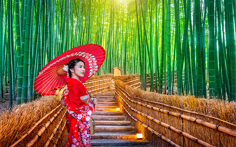 The Best Places To Visit On Your Japan Honeymoon Arashiyama Bamboo Forest